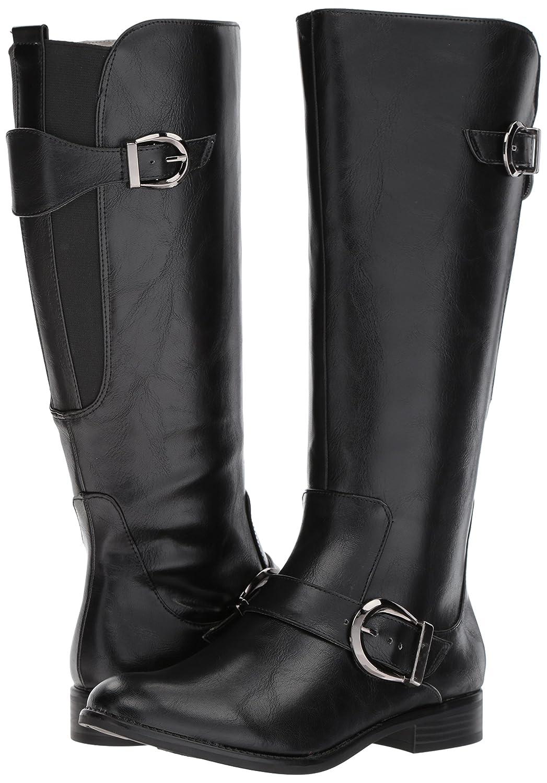 LifeStride Women's Rosaria Equestrian Boot B075G212B3 11 B(M) US|Black