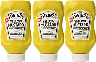 product image for Heinz Yellow Mustard, 20 Ounce (Pack of 3)