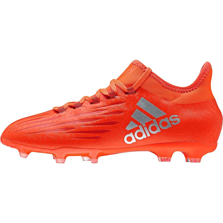 Adidas X 16.1 FirmGround Junior Fußballschuhe, Rot, 30.5