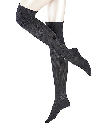 295f00d3a FALKE No. 3 Finest Silk Women Overknees: Amazon.co.uk: Clothing