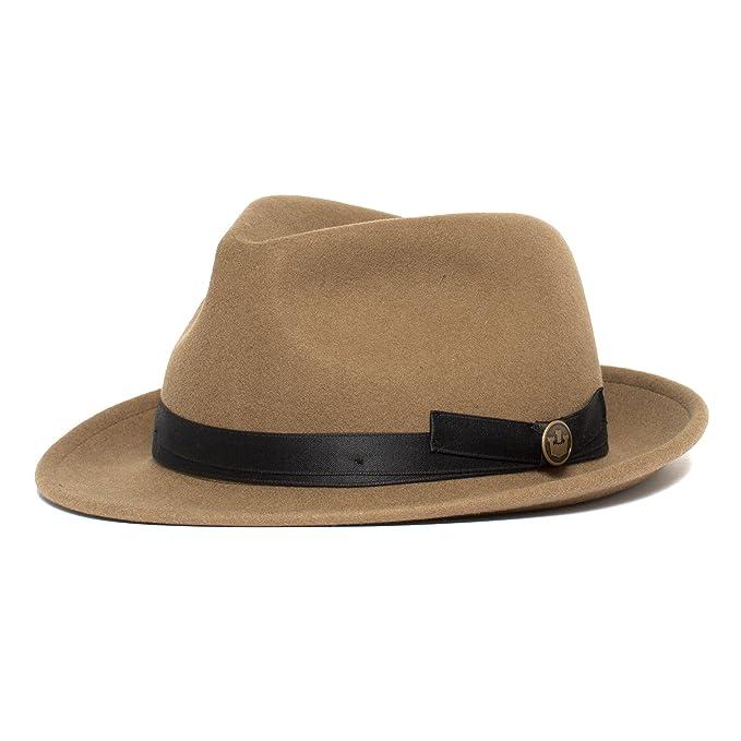 5a850c0dc Goorin Bros. Unisex - Pascal Classic Brim Fedora Hat: Amazon.ca ...