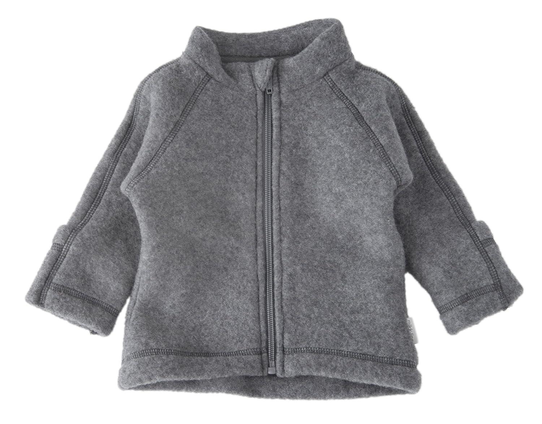 mikk-line Unisex Baby Jacke 50001, Grau (Melange Grey 916), 80 50001-916-80