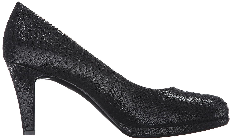 Naturalizer Women's Michelle Dress Pump B0125L7JS2 4 M US|Black Snake
