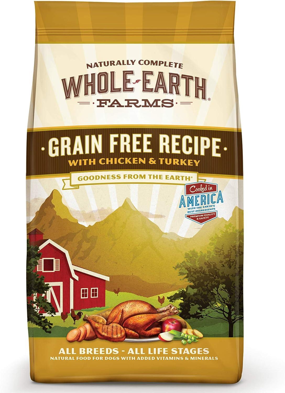Whole Earth Farms Grain-Free Chicken & Turkey Recipe Dry Food