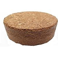 Kokosquelltabletten ca. Ø 60 mm, 50 Stück (Preis je Stück: 35 Cent), Kokosquelltöpfe, Kokosquellerde, torffreie Anzuchterde aus gepressten Kokosfasern, ergibt ca. 400 ml je Tablette