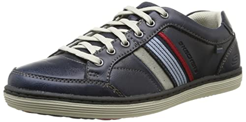 Fashion England Mens Skechers SORINO DUARTE Leather Relaxed