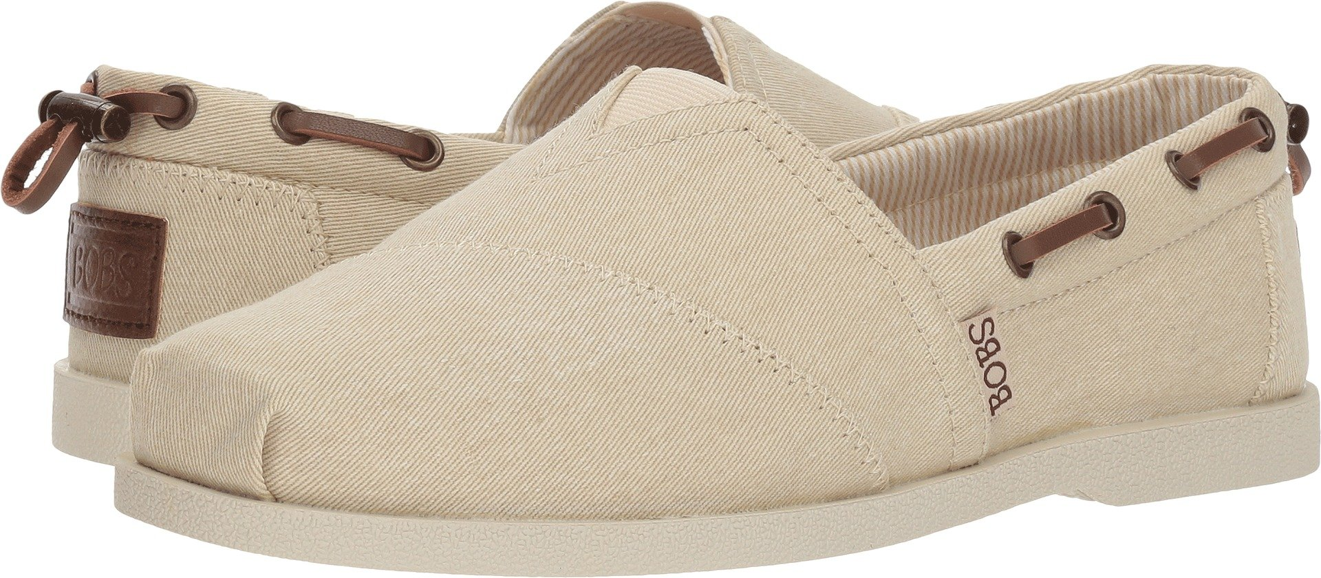 Skechers BOBS from Women's Chill Luxe - Fancy Me Natural 6.5 B US