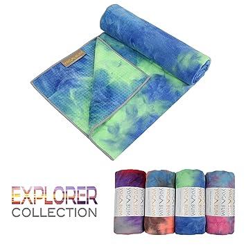 Yogabum Explorador Colección Antideslizante Yoga Mat Toallas