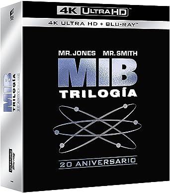Pack: Men In Black 1-3 (4K UHD + BD) [Blu-ray]: Amazon.es: Tommy ...