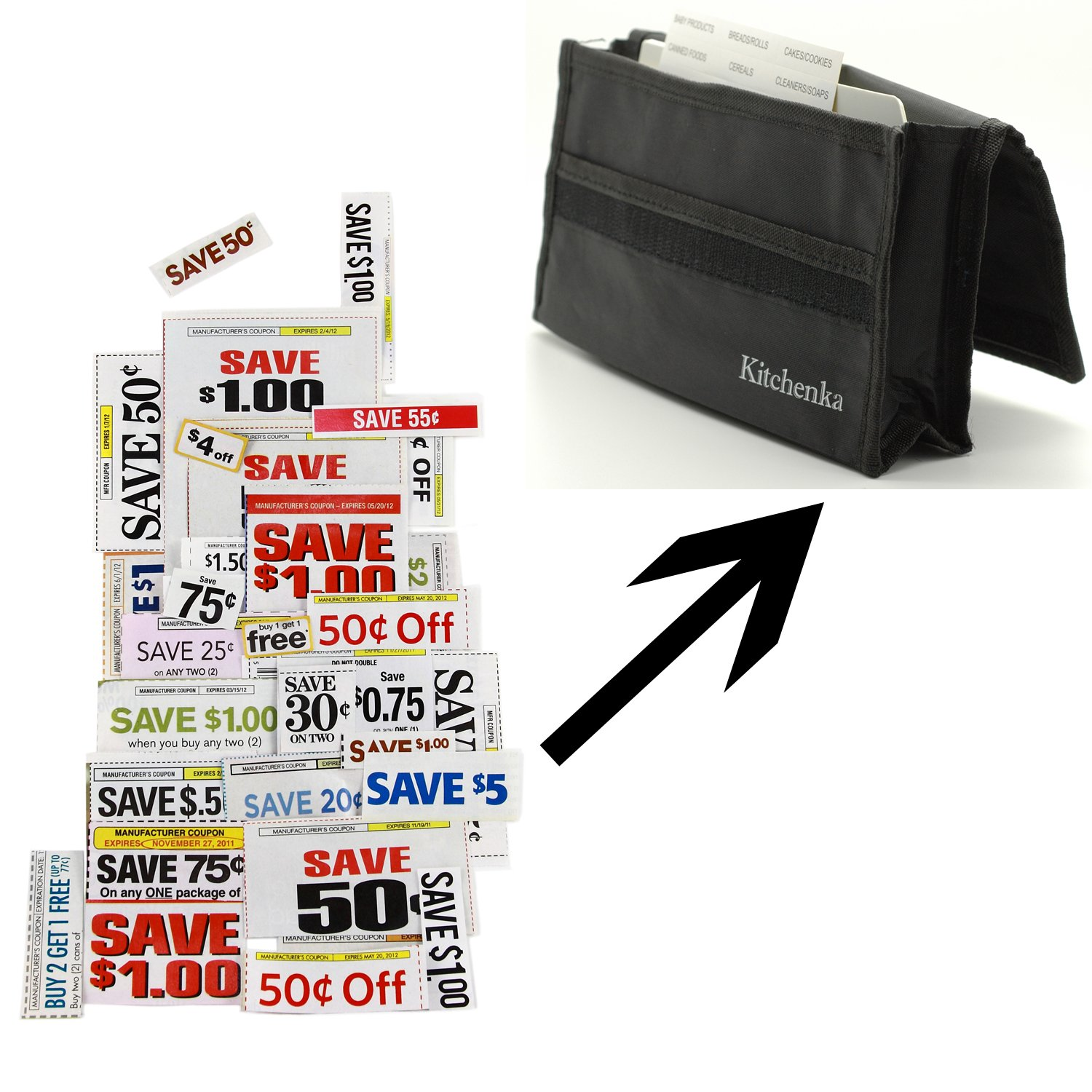 Coupon master clipping service - Amazon Com Coupon Organizer For Purse Deluxe Magic Binder Best Extreme Couponing For Every Mom The Only Coupon Caddy Wallet Holder You Will Ever Need