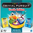 Trivial Pursuit Family Edition - Board Game - Ages 8+