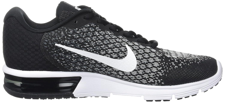 NIKE Men's Air Max B01H2LO528 Sequent 2 Running Shoe B01H2LO528 Max 8.5 D(M) US|Black/White/Dark Grey/Wolf Grey 411dc0