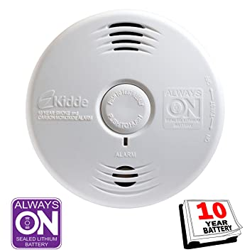 Kidde i12010SCO Hardwired Smoke and Carbon Monoxide Alarm by Kidde Safety