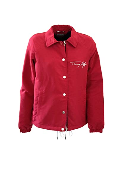 Tommy Hilfiger WW0WW22125 Amber JKT Abrigos Y Chaquetas, Y Cazadoras Mujer Red M: Amazon.es: Ropa y accesorios