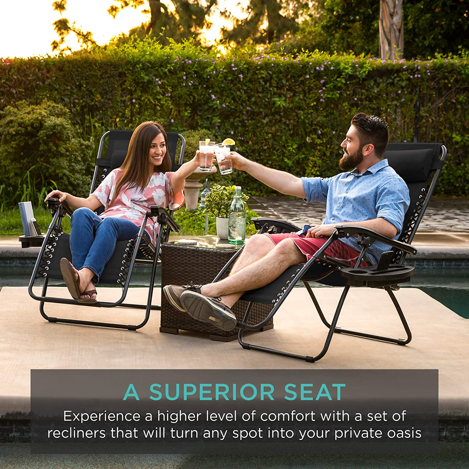 Best Choice Products Zero Gravity Chair a superior seat