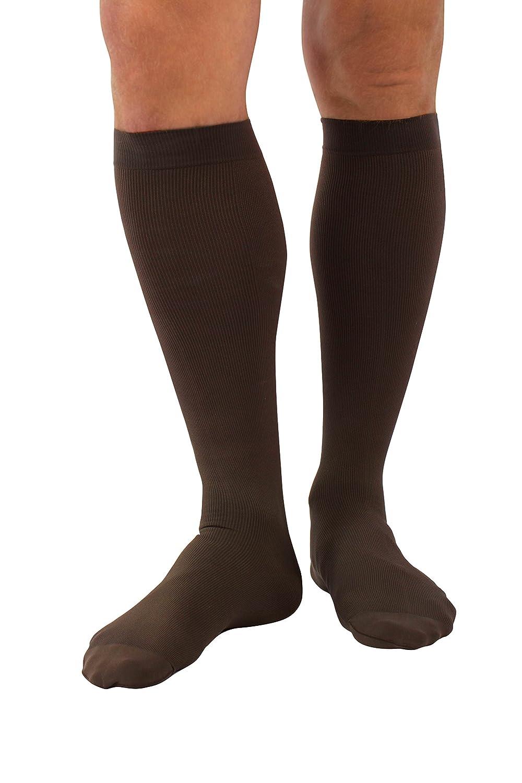 Medical Socks Size M Anti Fatigue Calf Compression Flight Men Befit24 Beige