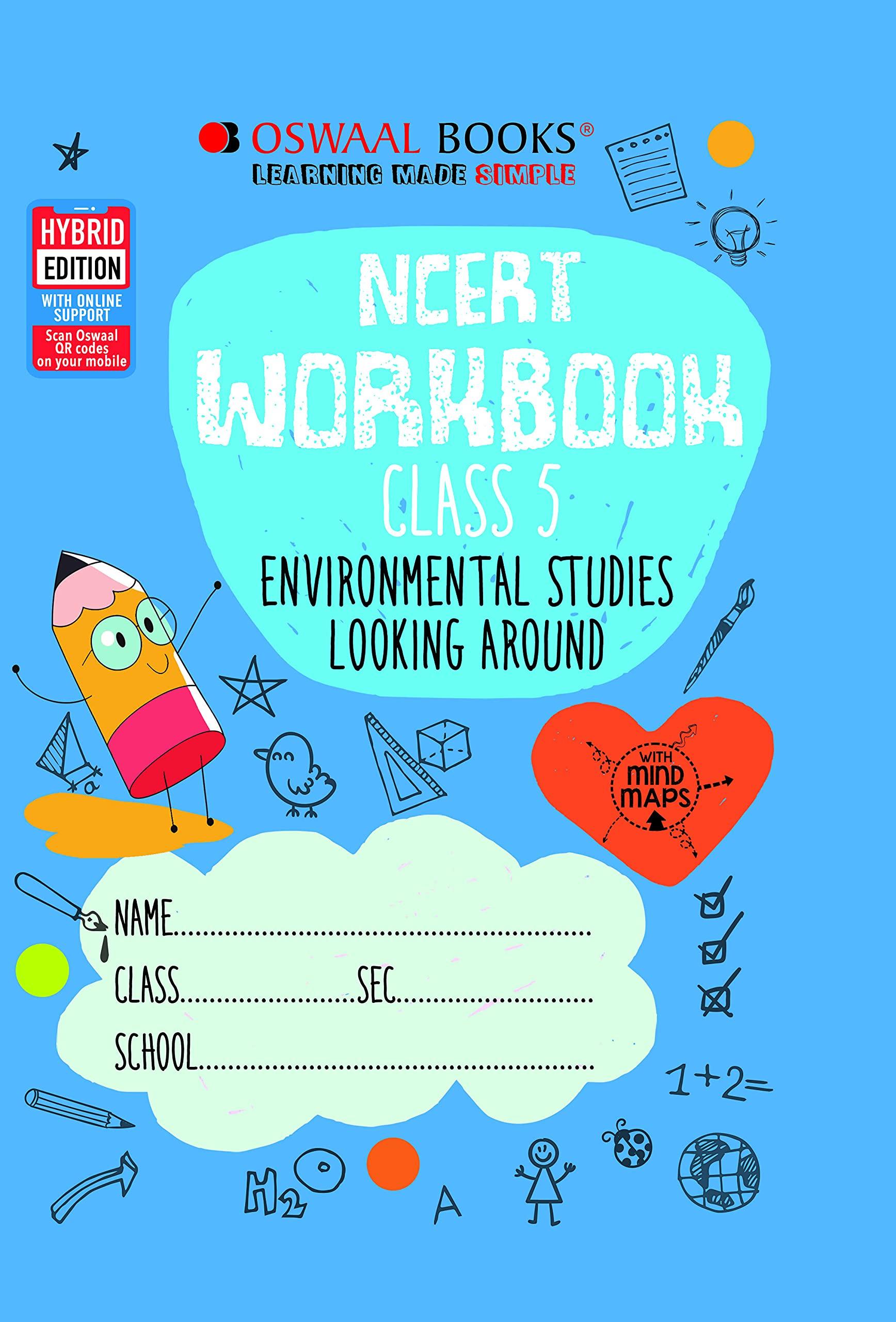 Oswaal NCERT Workbook Class 5, Environmental Studies (For 2022 Exam)