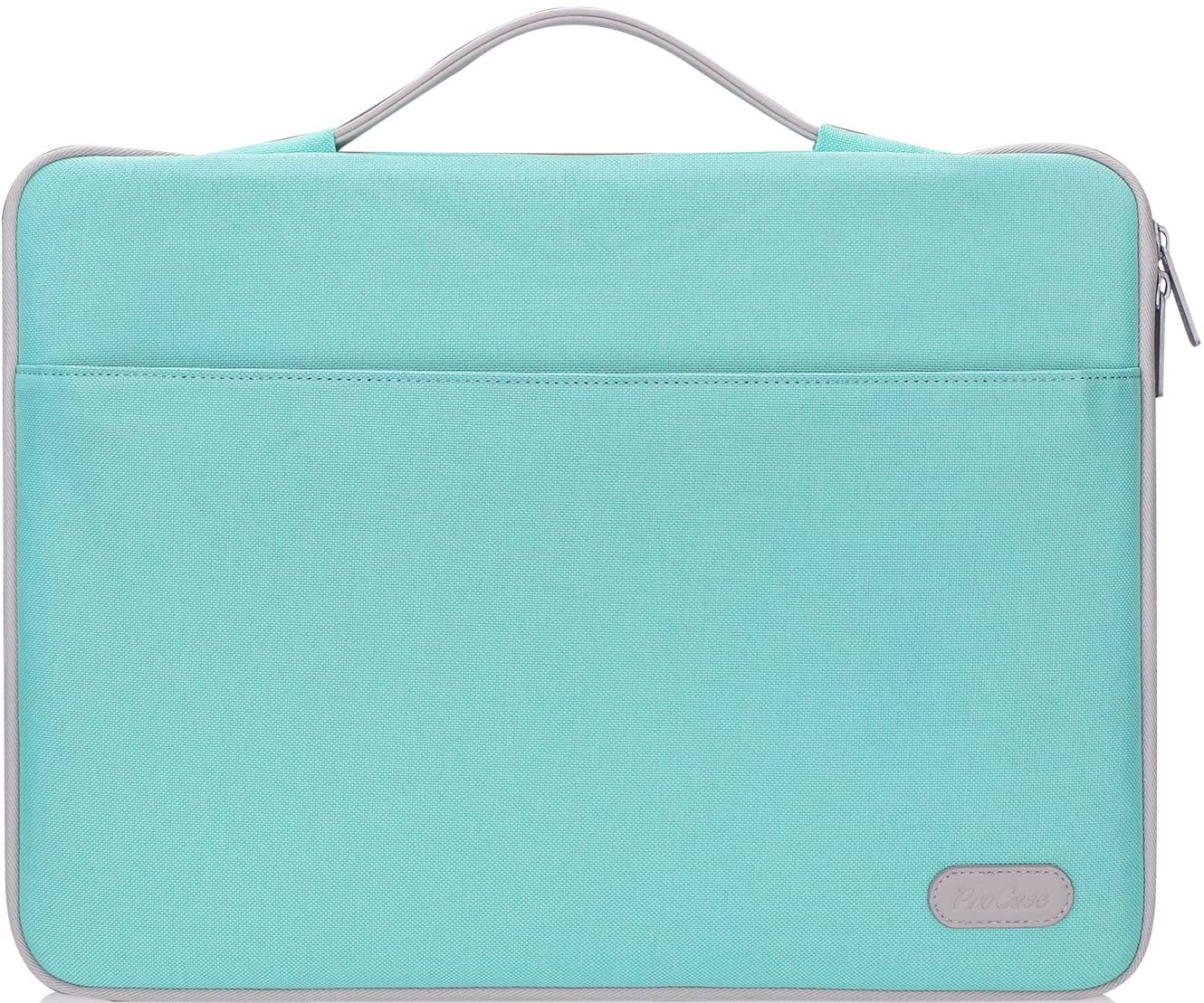 "ProCase 12-12.9 inch Sleeve Case Bag for Surface Pro X 2017/Pro 7 6 4 3, MacBook Pro 13, iPad Pro Protective Carrying Cover Handbag for 11"" 12"" Lenovo Dell Toshiba HP ASUS Acer Chromebook -Mint Green"