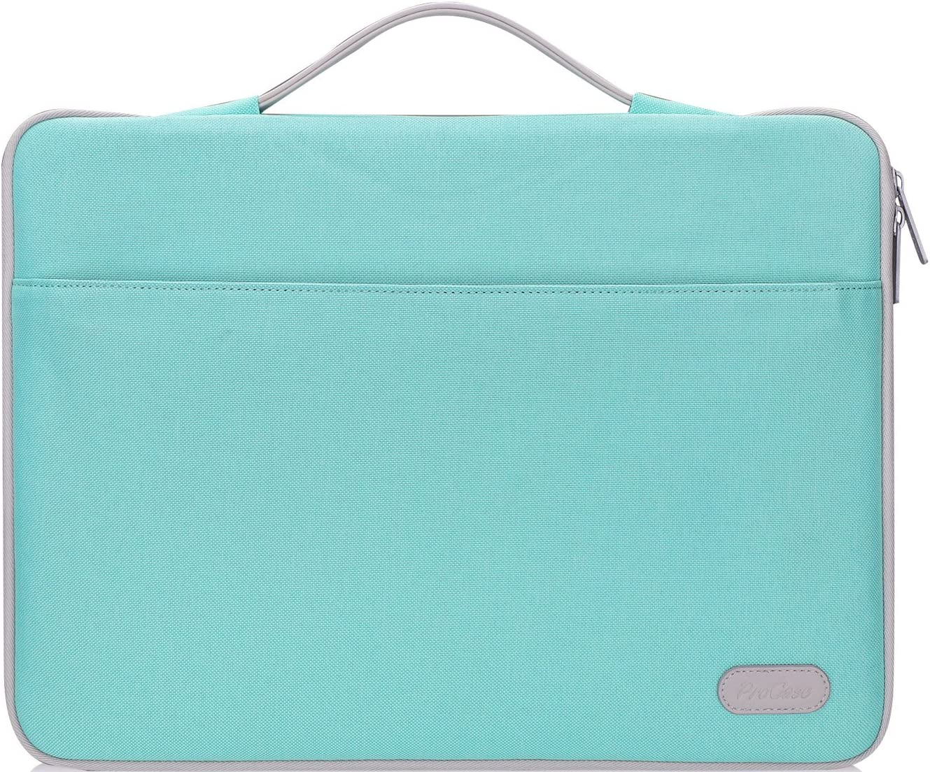 "ProCase 13-13.5 Inch Sleeve Case Cover for MacBook Pro 2019 2018 2017 2016/Surface Laptop 2017/Book 3 13.5"" 15"", Laptop Slim Bag for 13"" 13.3"" Lenovo Dell Toshiba HP ASUS Acer Chromebook -Mint Green"