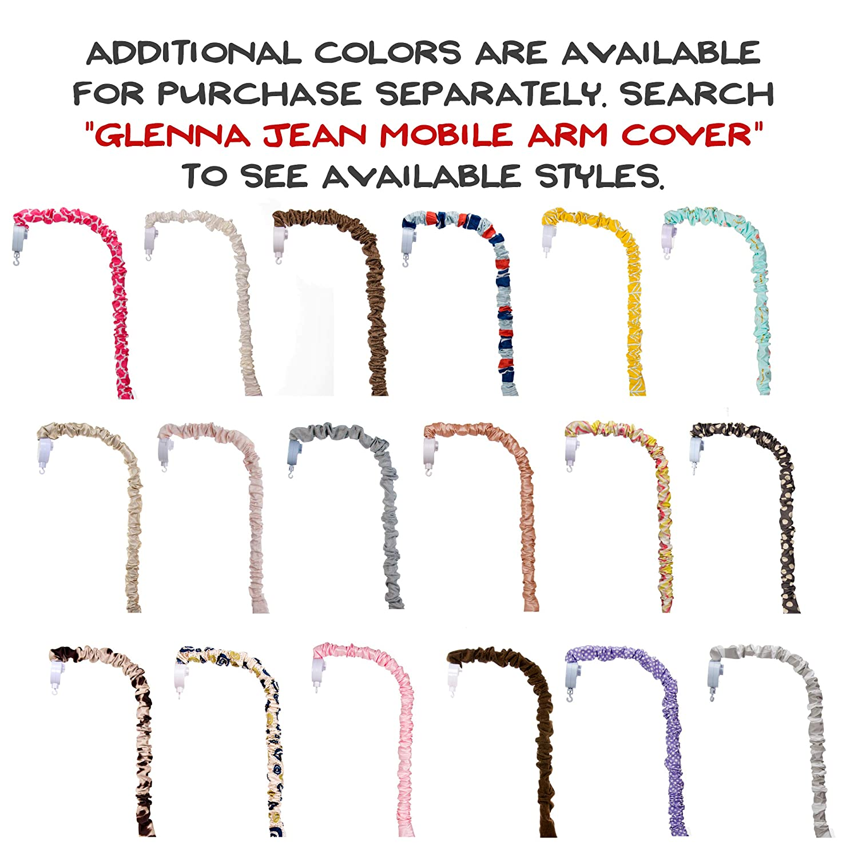 Black//White Glenna Jean Apollo Mobile Arm Cover Standard Glenna Jean Mfg 18834
