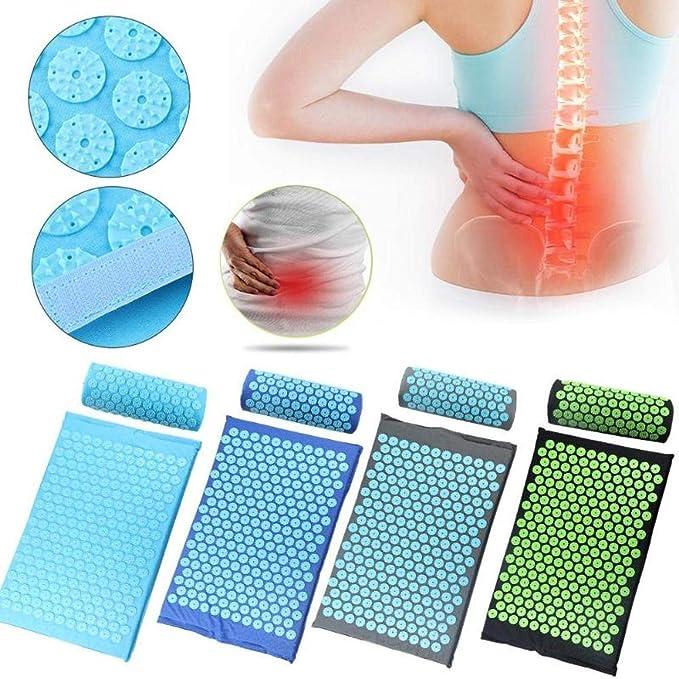 Amazon.com: Alston - Esterilla de masaje de acupresión para ...