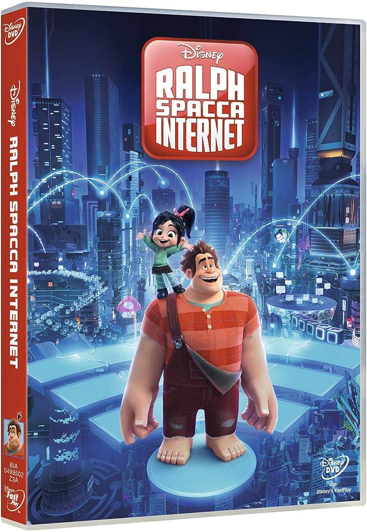 ralph spacca internet dvd  : Disney: Ralph Spacca Internet