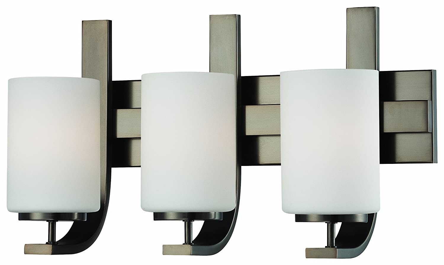 Thomas Lighting SL715315 Pendenza Collection 3 Light Bath Light, Oiled Bronze