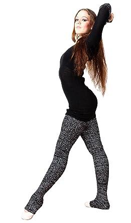 84b423c1f65a0 Black Super Long 40 Inch Leg Warmers Stretch Knit KD dance Dancewear Yoga  Ballet Ethical Sustainably