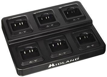 Midland C1218 Cargador múltiple para G10, Negro: Amazon.es ...
