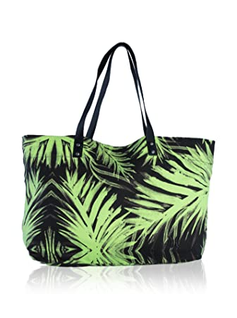 48c2f67bc9d7 Hurley Tomboy Women s Beach Tote Bag Green Flash Lime Size One Size ...