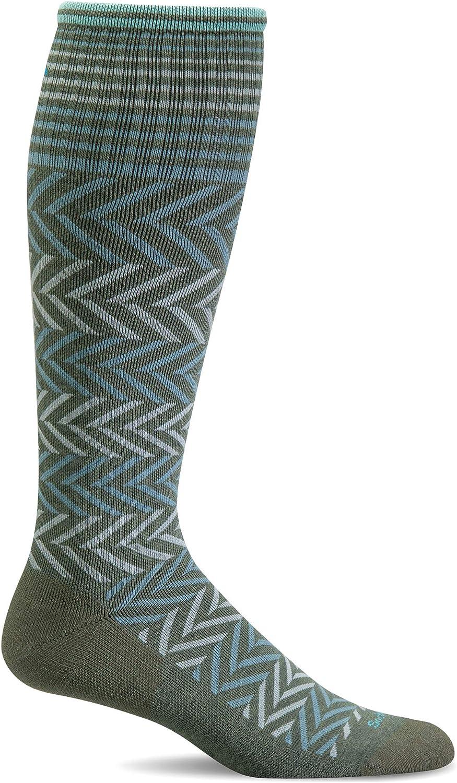 Sockwell Womens Chevron Graduated Compression Socks