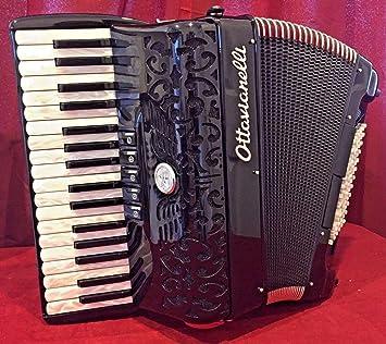 Nueva ottavianelli Piano acordeón Junior I negro LMM 34 72 ...