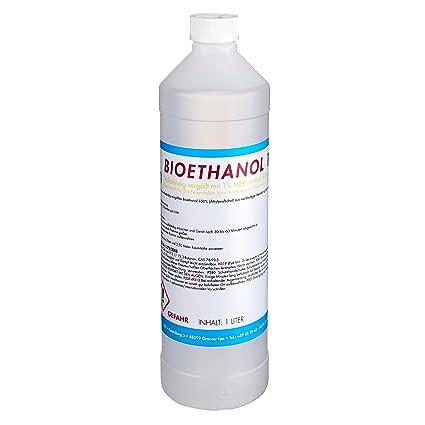 Gut gemocht TOP FIRE - 1 Liter Bioethanol 100% (1 x 1l), Brenndauer ca. 2 AY74