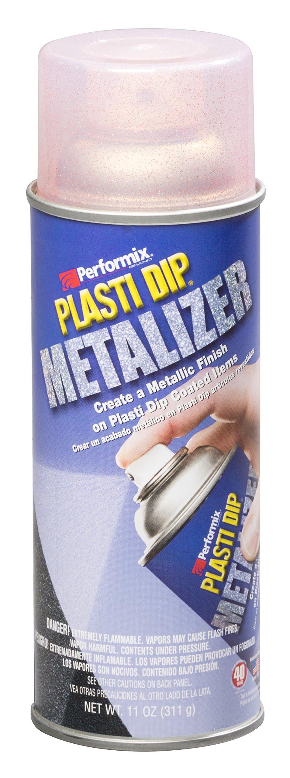 Performix 11241 Red Metalizer Top Coat, 11 oz (for Plasti Dip)