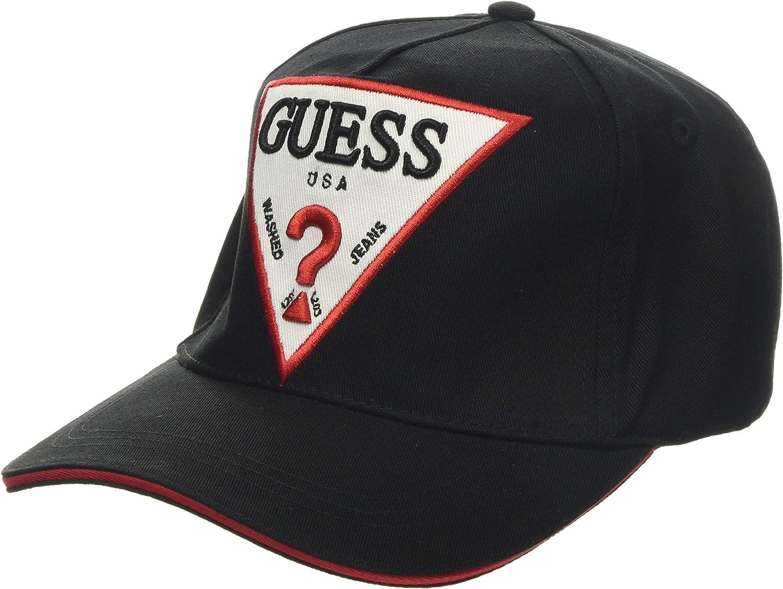 Guess Big Logo Baseball Cap Gorra de béisbol, Negro (Jet Black ...