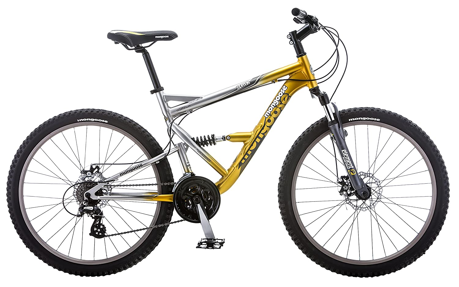 Mongoose Status Dual Suspension MTB