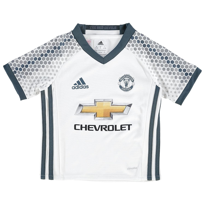 2016-2017 Man Man Man Utd Adidas Third Little Boys Mini Kit 8d80d9