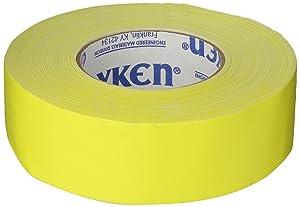 Polyken 510 Rubber Premium Grade Gaffer's Tape, Yellow, 48mm x 50m