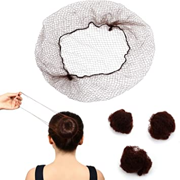 Black Net- FREE P/&P WHOLESALE OFFER 5,10,20,48 Per Pack Invisible Hair Nets