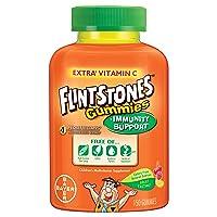 Flintstones Gummies Kids Vitamins with Immunity Support*, Kids and Toddler Multivitamin...