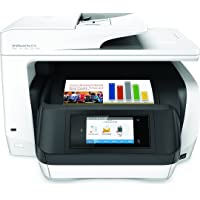HP Officejet Pro 8720 Color Inkjet All-in-One Printer with Duplex (White)