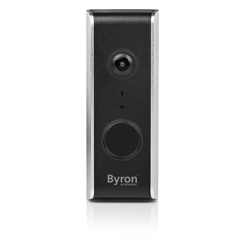 Byron Wifi Video Doorbell Black Kitchen Home Wiring A