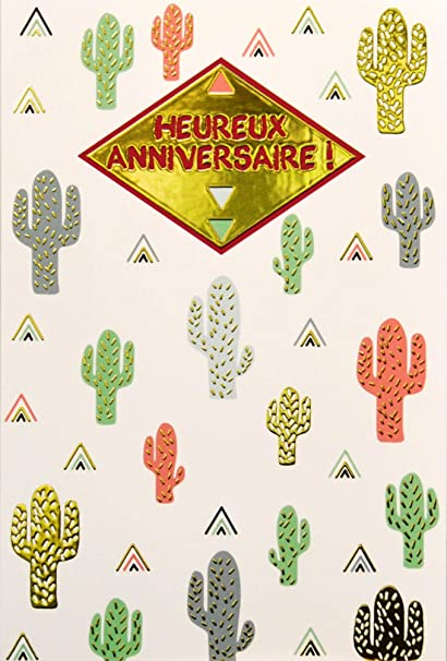 afie 69 - 4026 tarjeta feliz cumpleaños con Dorure oro ...