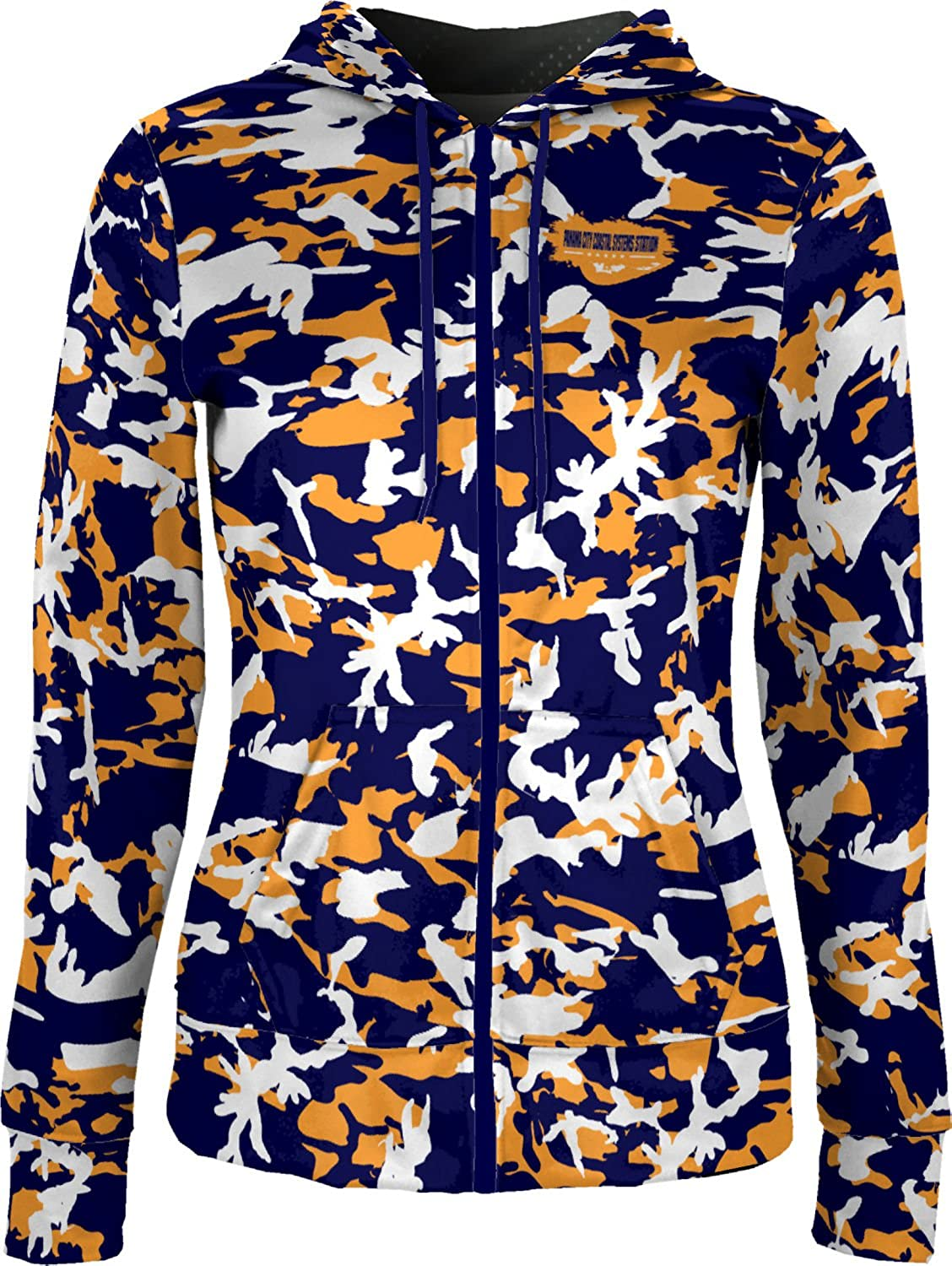 Women's Panama City Coastal Systems Station Military Camo Fullzip Hoodie