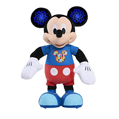 Mickey Mouse Hot Dog Dance Break Mickey Plush: Toys & Games
