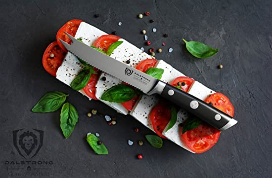 DALSTRONG Tomato Knife - Gladiator Series Review