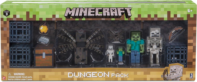 Minecraft - Juego de construcción para niños (16599): Amazon.es: Juguetes y juegos