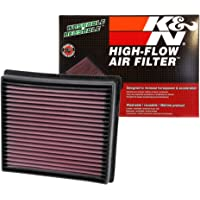 $55 » K&N engine air filter, washable and reusable:  2007-2019 Toyota/Lexus V8 Truck and SUV…