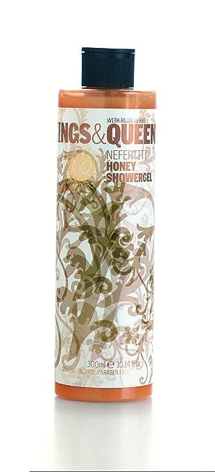 Kings & Queens Shower Gel, Nefertiti - Honey 10.14 fl oz (300 ml)