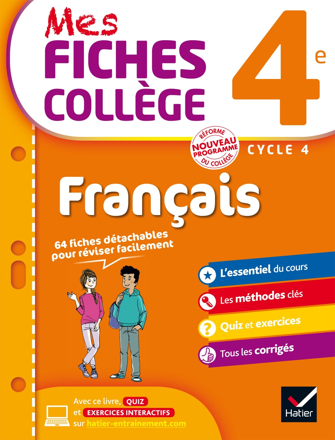 Mes Fiches College Francais 4e Cycle 4 Helene Ricard